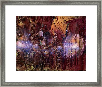 Cosmic Resonance No 2 Framed Print by Robert G Kernodle