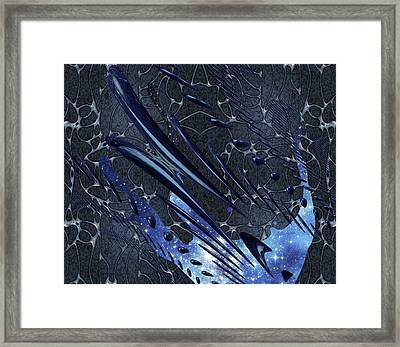Cosmic Resonance No 5 Framed Print by Robert G Kernodle