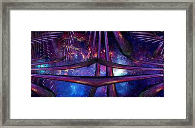 Cosmic Resonance No 7 Framed Print by Robert G Kernodle