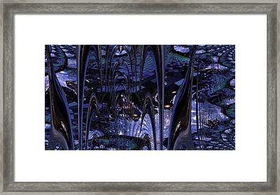 Cosmic Resonance No 8 Framed Print by Robert G Kernodle