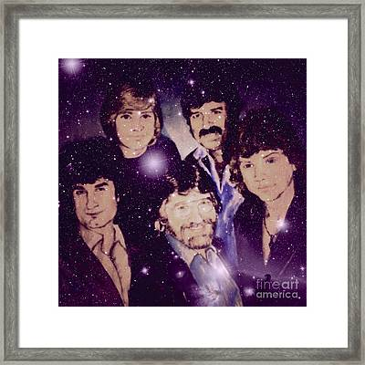 Cosmic Rockers Framed Print