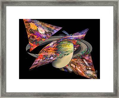 Cosmic Sensation Framed Print