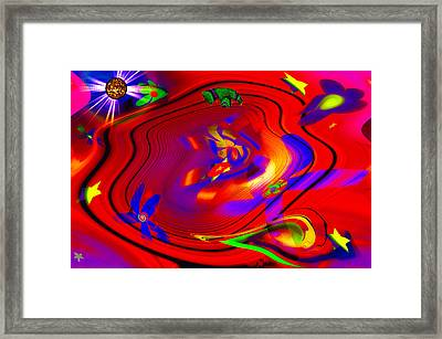 Cosmic Soup Framed Print by Bill Cannon