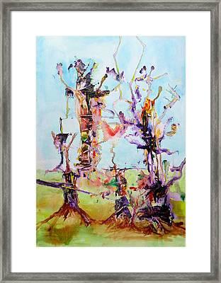 Cosmic Tree Family Framed Print