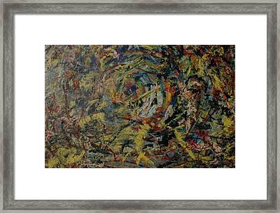 Cosmic Wars Framed Print by Biagio Civale
