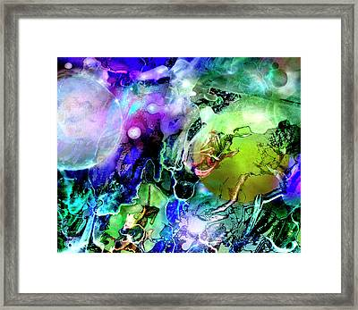 Cosmic Web Framed Print
