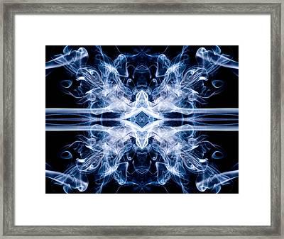 Cosmic X Framed Print by Val Black Russian Tourchin