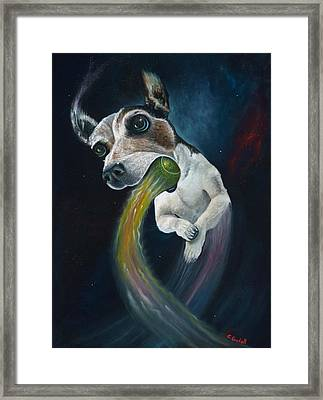 Cosmojo Framed Print by Claudia Goodell
