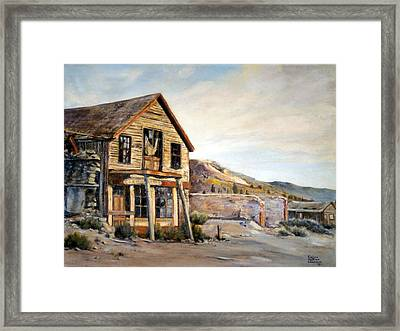 Cosmopolitan Playhouse Framed Print by Evelyne Boynton Grierson