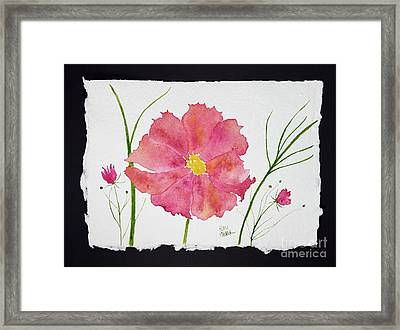 More Cosmos Framed Print