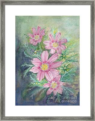 Cosmos - Painting Framed Print