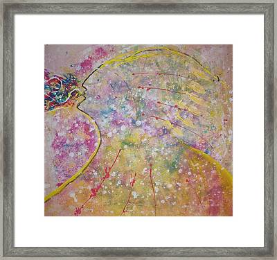 Cosmos Song Framed Print by Ruth Beckel