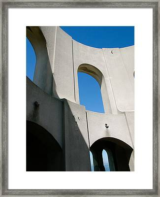 Cost Tower Detail Framed Print
