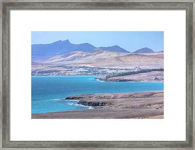Costa Calma - Fuerteventura Framed Print by Joana Kruse