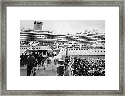 Costa Fortuna And Ijveer Framed Print by Dean Harte