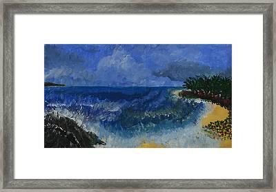 Costa Rica Beach Framed Print