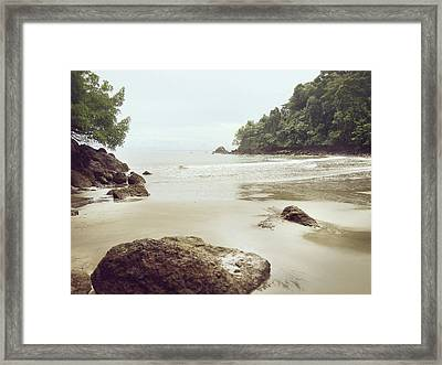 Framed Print featuring the photograph Costa Rica by Lucian Capellaro