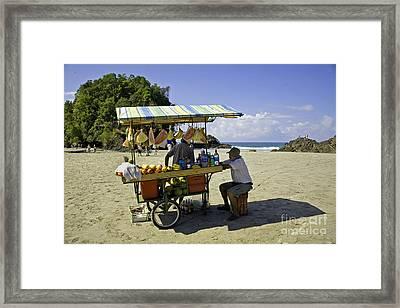 Costa Rica Vendor Framed Print