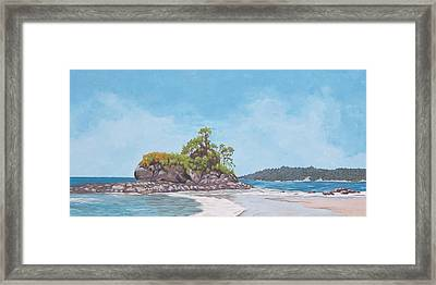 Costa Rican Coast Framed Print