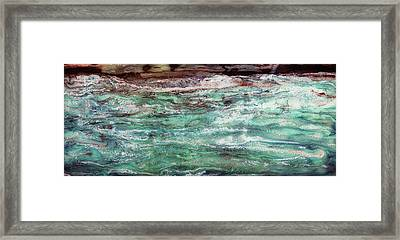 Costal Tide II Framed Print by Paul Tokarski