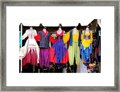 Costume Colors Framed Print