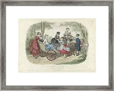 Costumes D'enfants, Huard, Anais Colin Framed Print