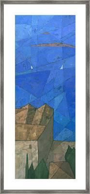Cote D Azur I Framed Print by Steve Mitchell