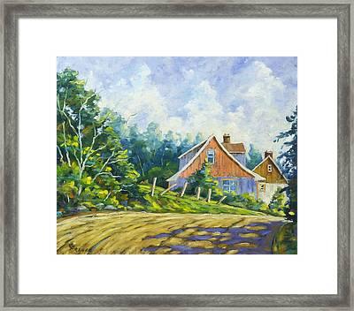 Cote Ste Anne De Beaupre Framed Print by Richard T Pranke