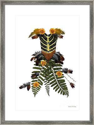 Cotillion In The Forest - Thumbelina Framed Print