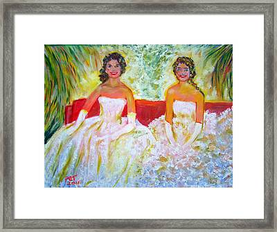 Cotillion Framed Print by Patricia Taylor