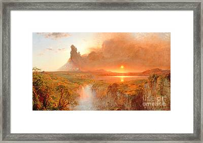 Cotopaxi Framed Print by Frederic Edwin Church