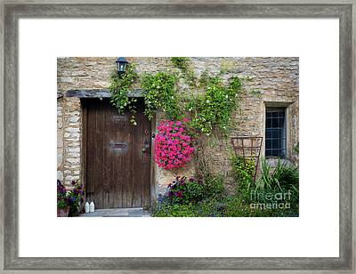 Cotswolds Milk Delivery Framed Print by Brian Jannsen
