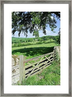 Cotswolds Framed Print