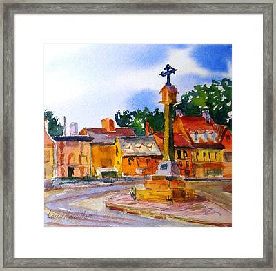 Cotswolds Town Center Framed Print
