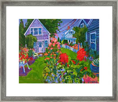 Cottage Country Framed Print by Brian Simons