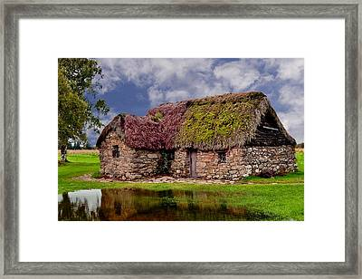 Cottage In The Highlands Framed Print