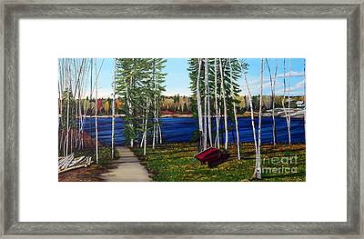 Cottage Life Framed Print