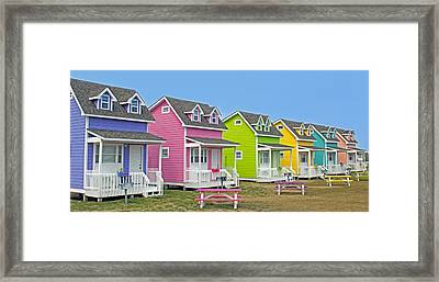 ''cottages'' Framed Print