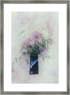 Framed Print featuring the photograph Cotton Candy Dreams by Linda Lees