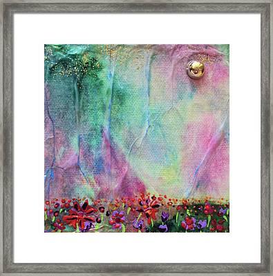 Cotton Candy  Framed Print by Shawna Scarpitti