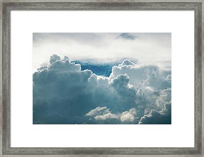 Cotton Clouds Framed Print by Marc Wieland