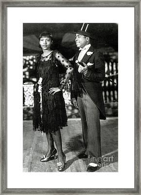 Cotton Club Dancers Framed Print