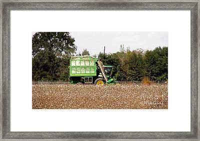 Cotton Gin Framed Print by Donna Brown