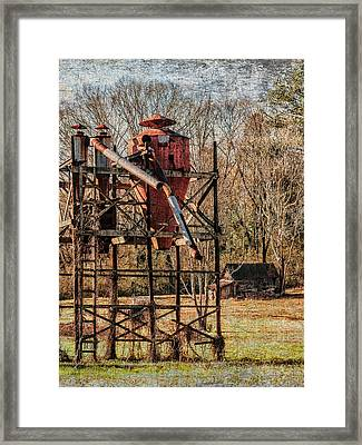 Cotton Gin In Vincent Alabama Framed Print by Phillip Burrow