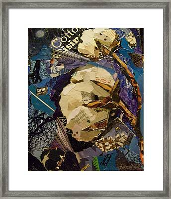 Cotton Rising Framed Print by Debby Guelker