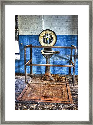 Cotton Scales Mary Leila Cotton Mill Framed Print