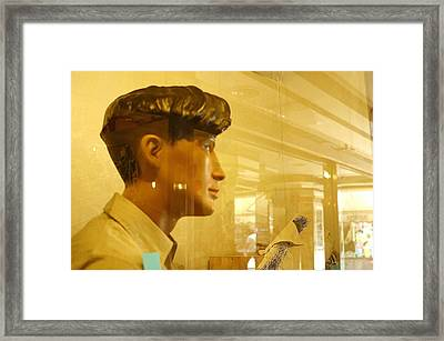 Could Do With A New Haircut Framed Print by Jez C Self