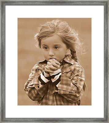 Could I Do That? Framed Print