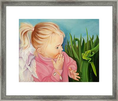 Could This Be My Prince Framed Print by Joni McPherson