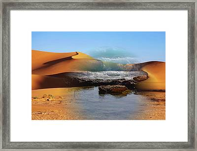 Could This Really Happen? Framed Print